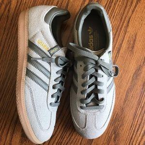 Adidas Samba Hemp Shoes Sneakers Men's Grey Size 7